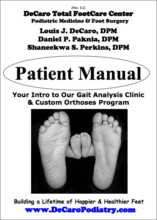 DeCaro Patient Manual Cover